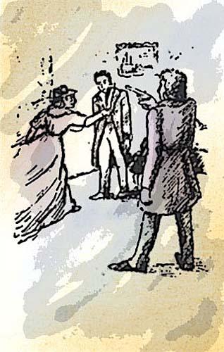 рисунок по повести пушкина метель